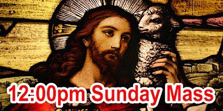 12:00pm Sunday Mass (OUTDOOR SCHOOL PARKING AREA) tickets