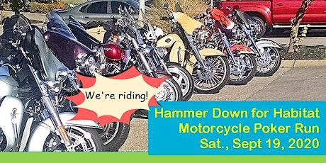 2020 Hammer Down for Habitat Motorcycle and Car Poker Run tickets