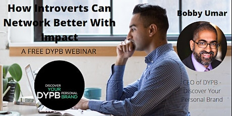 DYPB Webinar - How Introverts Can Network Better With Impact tickets