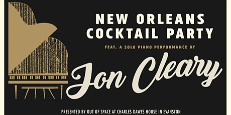 CANCELLED: NOLA Cocktail Party w/ a performance by Jon Cleary tickets