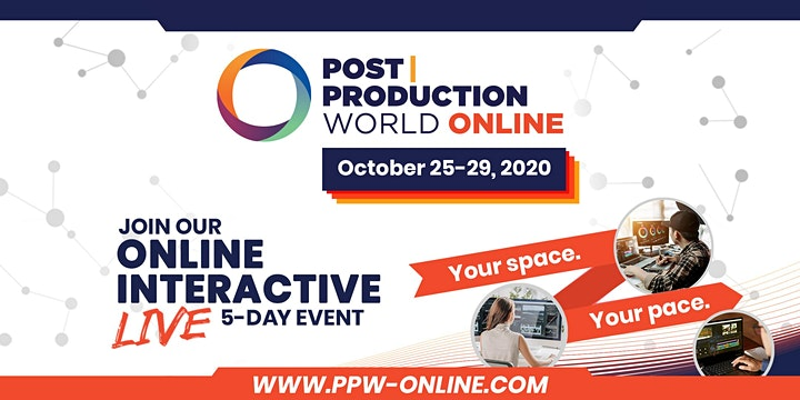 Post|Production World (P|PW) Online (FALL 2020) image