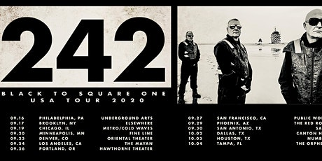 Front 242 + TBA at Public Works tickets