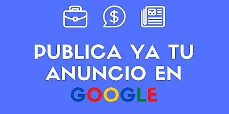 Taller Google ADS entradas