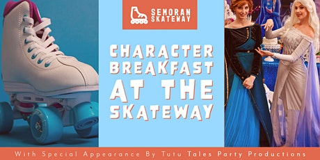 Character Breakfast At The Skateway tickets