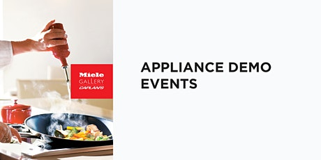 LIVE COOKING DEMO tickets