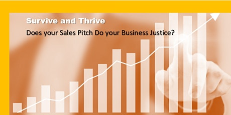 SME Skills Academy Presents; Does You Sales Pitch do Your Business Justice? tickets