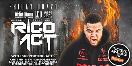 Rico Act at THE LED ROOM tickets