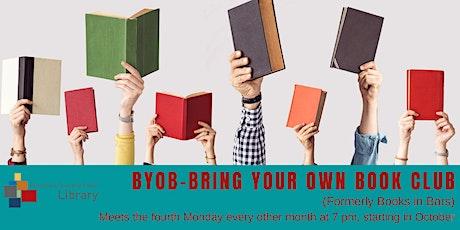 BYOB--Bring Your Own Book Club tickets
