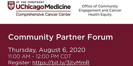 University of Chicago Comprehensive Cancer Center Community Partner Forum tickets