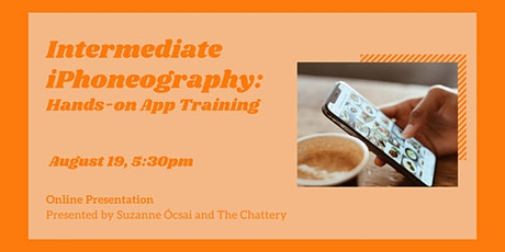 Intermediate iPhoneography: Hands-on App Training - ONLINE CLASS tickets