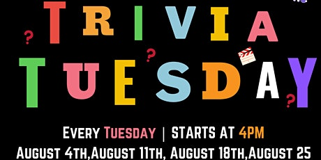TCCSA多华会 Presents-Trivia Tuesday for Newcomer Youth 16+ tickets