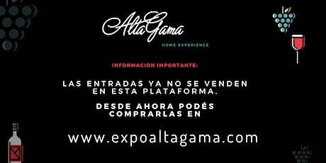 Alta Gama Home Experience entradas