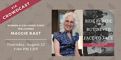 Virtual Book Launch: SIDE BY SIDE BUT NEVER FACE TO FACE by Maggie Kast tickets