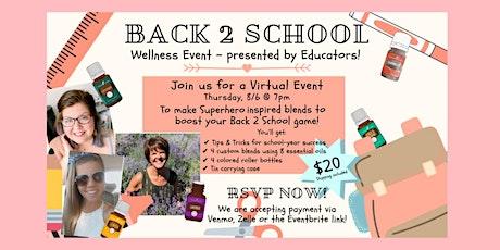 Back 2 School Wellness Class tickets