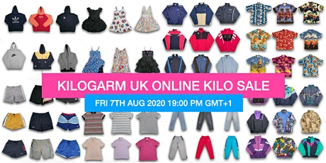 KILOGARM UK ONLINE KILO SALE AUGUST 7TH - 9TH 7PM GMT+1 tickets
