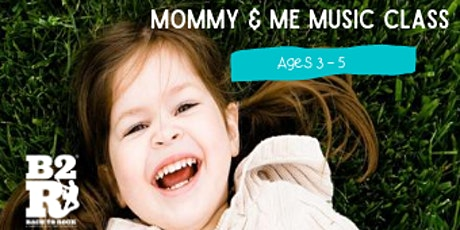 FREE Mommy & Me Music Class @ Apex Community Park Hosted By B2R Apex! tickets