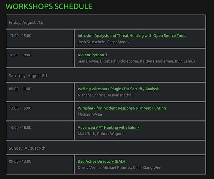 Packet Hacking Virtual Village Workshops at DC 28 Safe Mode Ticket Sales image