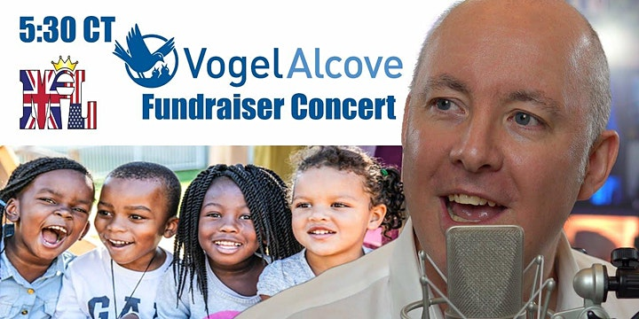 Vogel Alcove YouTube Concert Fundraiser - World Piano Man Martyn Lucas