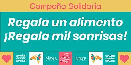 Campaña de Alimentos - Kimen 2020 entradas