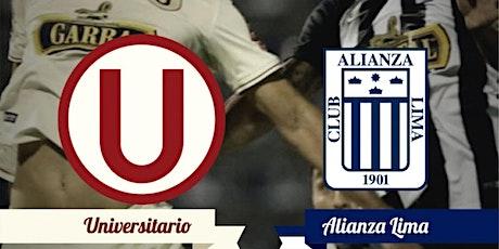 PARTIDO DE FUTBOL  UNIVERSITARIO DE DEPORTES VS ALIANZA LIMA entradas
