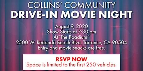 Collin's Community Drive-In Movie Night (1) tickets