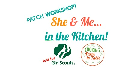 She & Me in the Kitchen!  AUG 15. 11AM. CHICKEN FRIED RICE. tickets