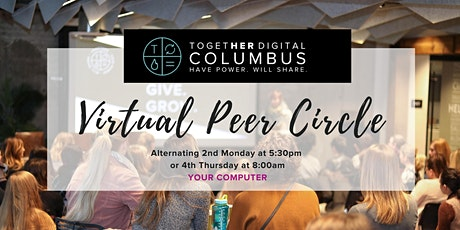 Columbus Together Digital Virtual Peer Circle-Members Only tickets