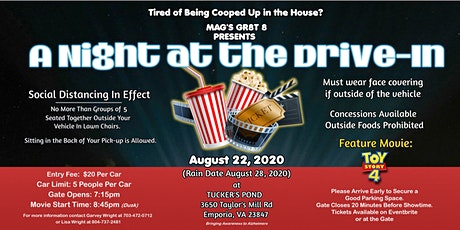 A Night at the Drive-In Theater tickets