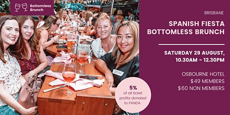 Brisbane Mums Spanish Fiesta Bottomless Brunch tickets