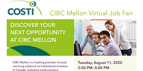 CIBC Mellon Virtual Job Fair tickets