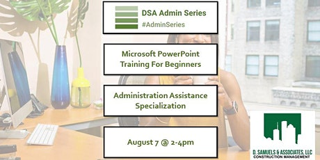 Microsoft PowerPoint Training for Administrative Assistants tickets