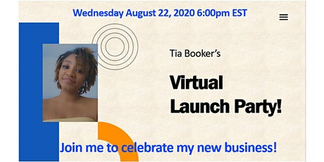 Tia's Virtual Launch Party tickets