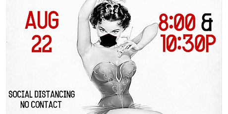 Terre Rouge - Speakeasy Burlesque - Live Jazz - SOCIAL DISTANCING SHOW tickets