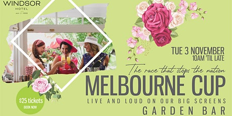 The Windsor Hotel Melbourne Cup Garden Party tickets