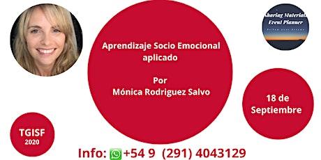 """TGISF - """"Aprendizaje Socio Emocional aplicado"""" Por Mónica Rodriguez Salvo boletos"""