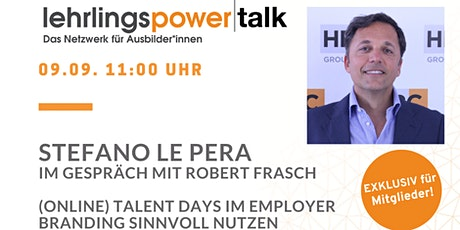 lehrlingsPOWERtalk international Tickets