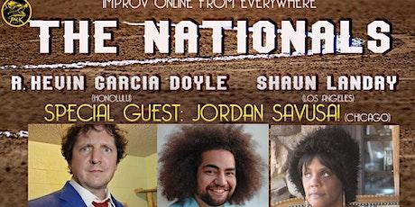 The Nationals Improv Comedy with Jordan Savusa! tickets