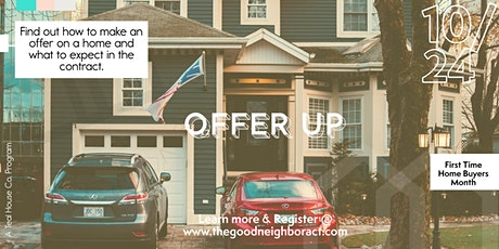 Offer Up: How to make an offer on a house and win tickets