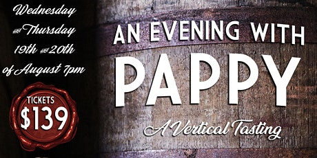 An evening with Pappy  part II - Thursday tickets