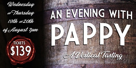 An evening with Pappy  part II - Wednesday tickets