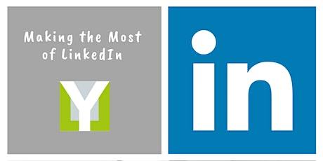 Making the Most of LinkedIn Webinar tickets