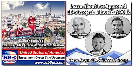 Chennai  EB-5 American Green Card Virtual Market Series tickets