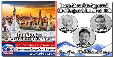 Bangkok  EB-5 American Green Card Virtual Market Series tickets