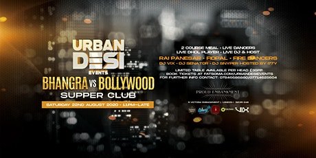 Bhangra VS Bollywood Supper Club tickets