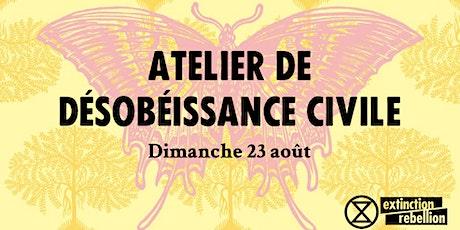 Atelier de Désobéissance Civile Tickets