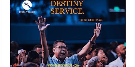Destiny Service tickets