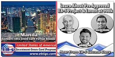 Manila  EB-5 American Green Card Virtual Market Se