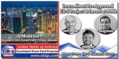 Manila  EB-5 American Green Card Virtual Market Series tickets