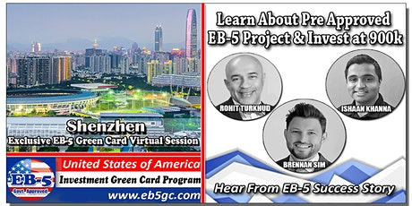 Shenzhen  EB-5 American Green Card Virtual Market Series tickets