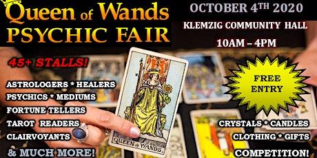 Queen of Wands Psychic Fair at Klemzig 04-10-20 tickets